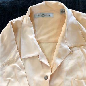 Tommy Bahama Silk Short Sleeve Button Down